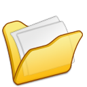 Folder yellow mydocuments icon