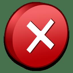 Symbols Error icon