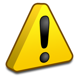 Symbols Warning icon