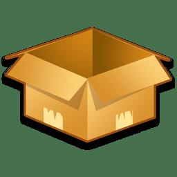 System Box Empty icon