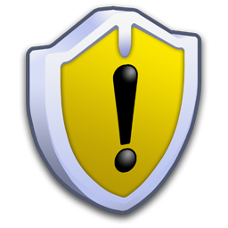System Security Warning icon