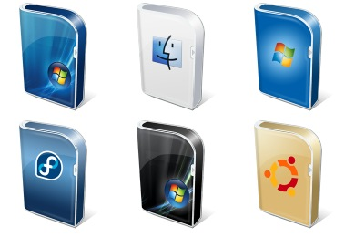 Vista Like Boxes Icons