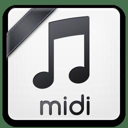 Midi Icon Basic Filetypes 1 Iconset Trayse101