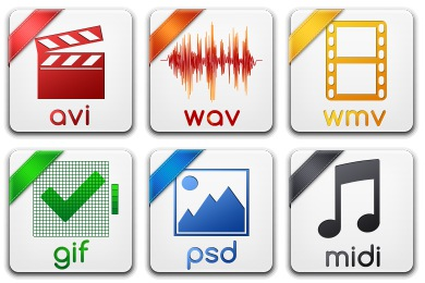 Basic Filetypes 1 Icons