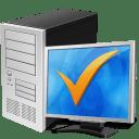 Computer ok icon