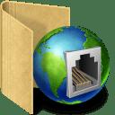 Network plug icon