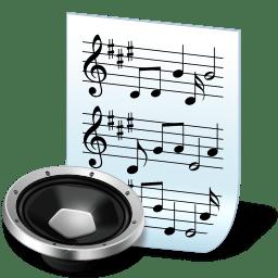 Document audio icon