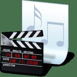 Document movie icon