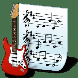 Document music icon