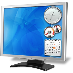 Monitor desktop icon
