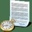 Document-clock icon