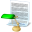 Document desk icon