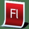 Document-adobe-flash icon