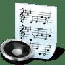 Document-audio icon