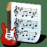 Document-music icon