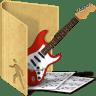 Folder-public-music icon