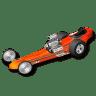Racing-car icon
