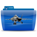 Fighter plane icon