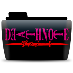 Deathnote text icon