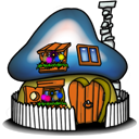 Smurf House Smurfette icon