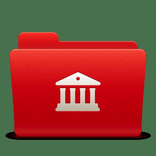 Folder Libraries icon