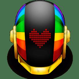 Guyman Helmet Love icon