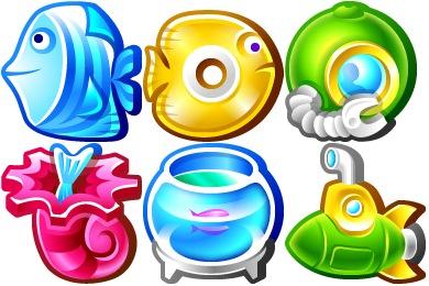 Underwater Icons