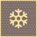 Snow snowflake 2 icon