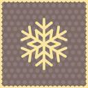 Snow snowflake 3 icon