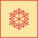 Snow snowflake icon