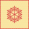 Snow-snowflake icon