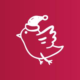 Snow bird icon