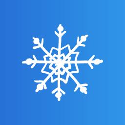 Snow flake 5 icon