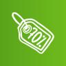 Discount-tag icon