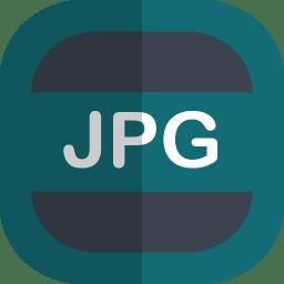 Jpg Icon | Free Flat File Type Iconset | uiconstock