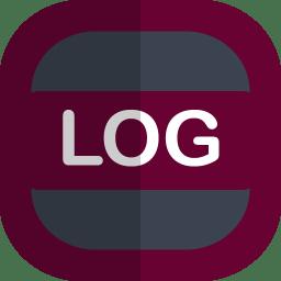 Log Icon Free Flat File Type Iconset Uiconstock