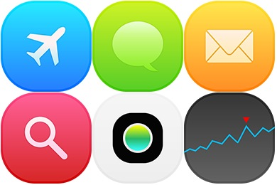 iOS8 Settings Icons