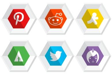 Premium Social Icons