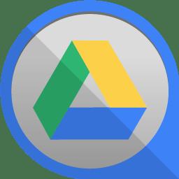Google Drive Icon Round Edge Social Iconset Uiconstock