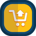 Shoppingcart 04 arrow up icon
