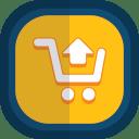 Shoppingcart-04-arrow-up icon