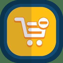 Shoppingcart 19 minus icon
