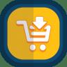 Shoppingcart-09-arrow-down icon