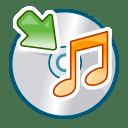 Cd audio mount icon