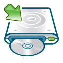Cd writer mount icon