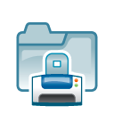 Folder print 2 icon