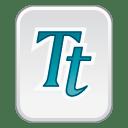 Font true type icon