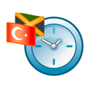 K world clock icon