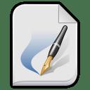App vnd scribus icon
