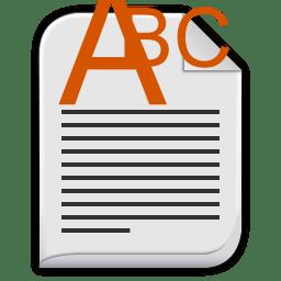 Text richtext icon